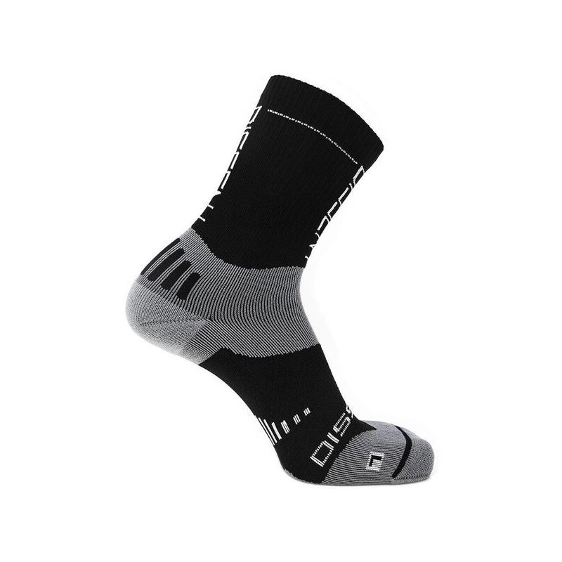 Compression Socks Supercrew Compression Nano 6in Size S