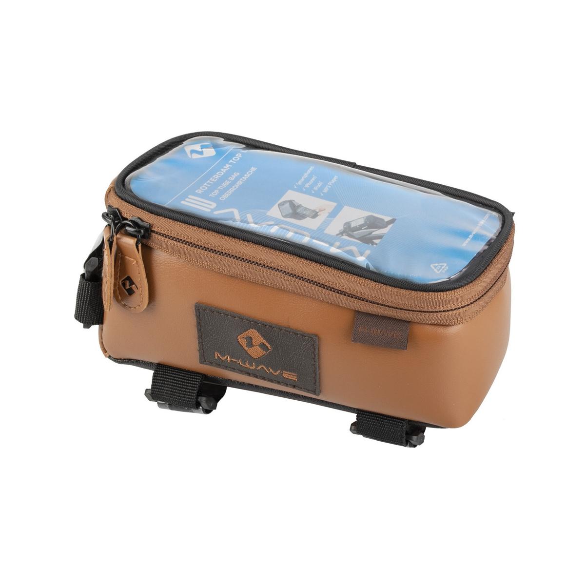 Top Tube Bag Rotterdam Top XL LE Smartphone Pocket Brown
