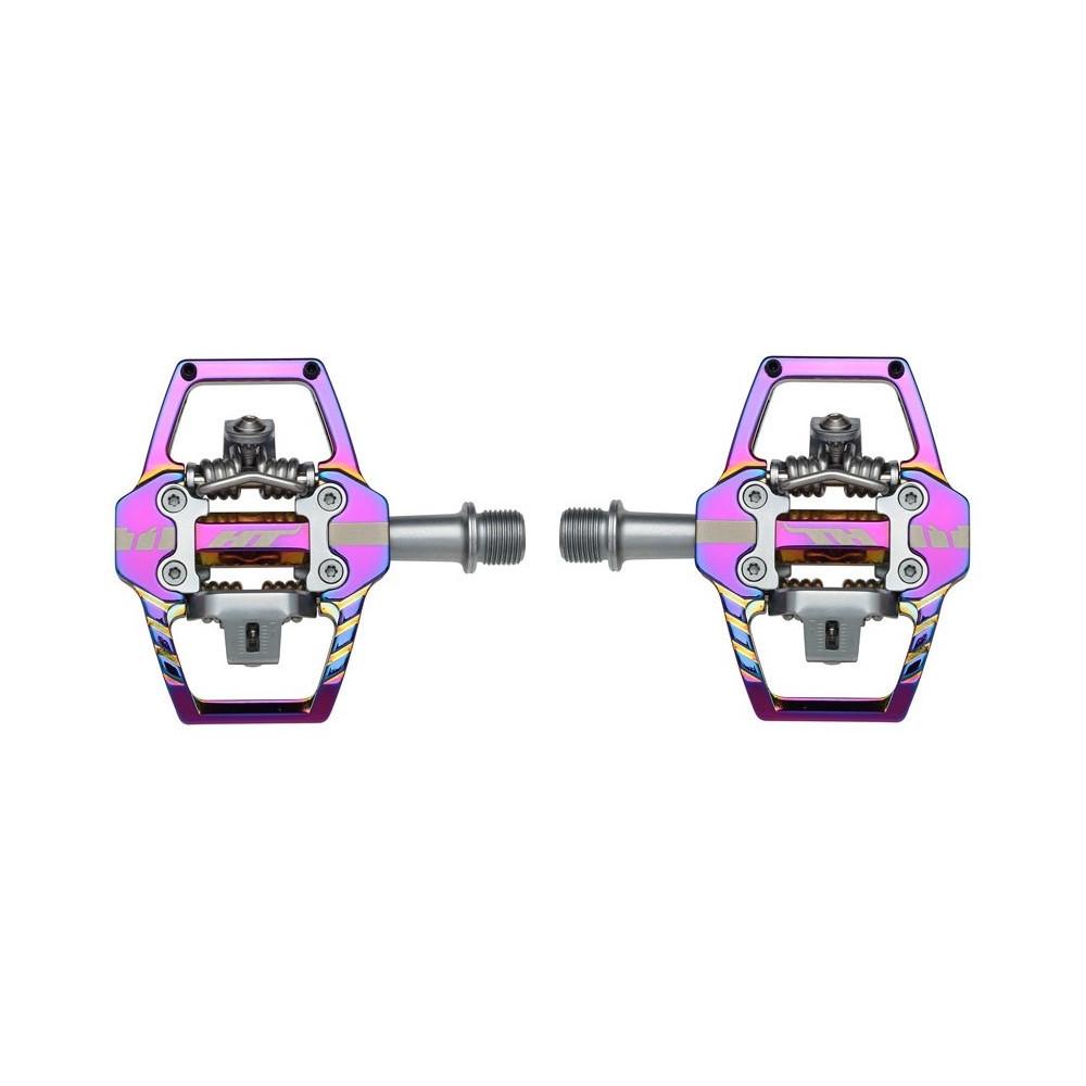 Pair Pedals T1 Enduro Oil Slick
