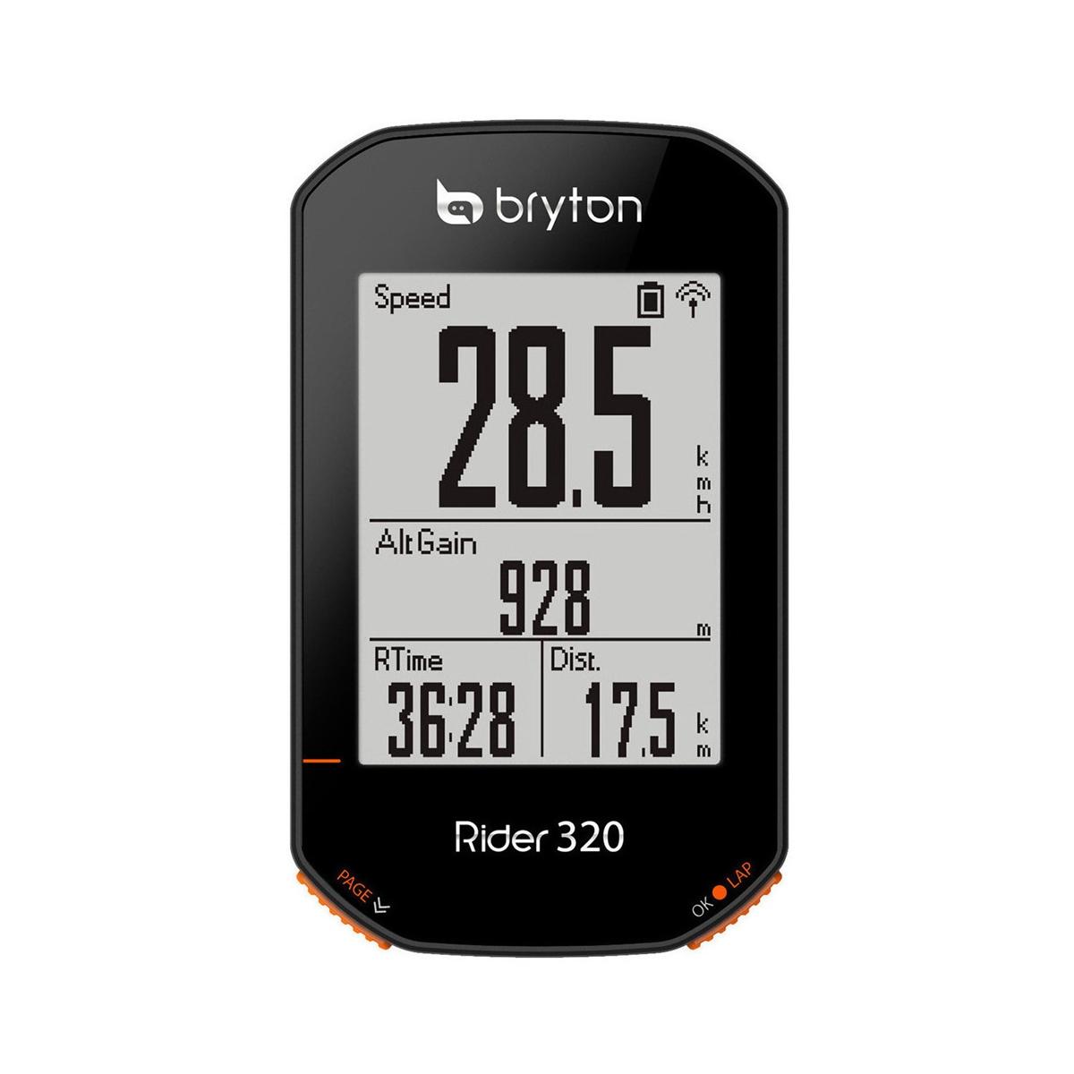 GPS Bike Computer Rider 320T + Heart Rate Monitor and Cadence Sensor