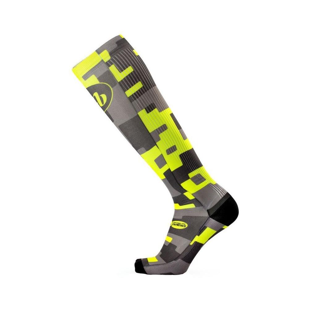 Socks Mb Trek Fun Long H40 Tetris Size S/M