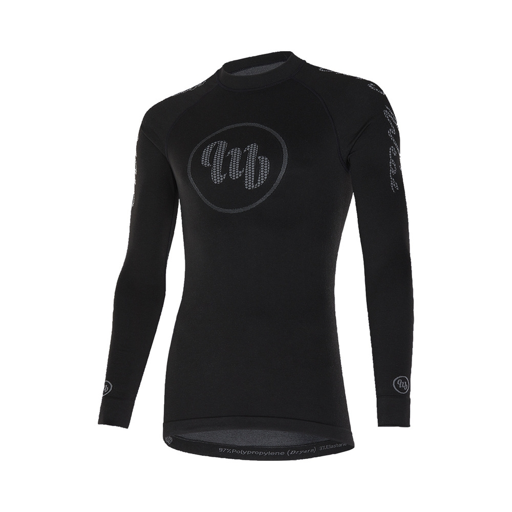 Winter Underwear Long Sleeves Freedom Black/Grey Size S