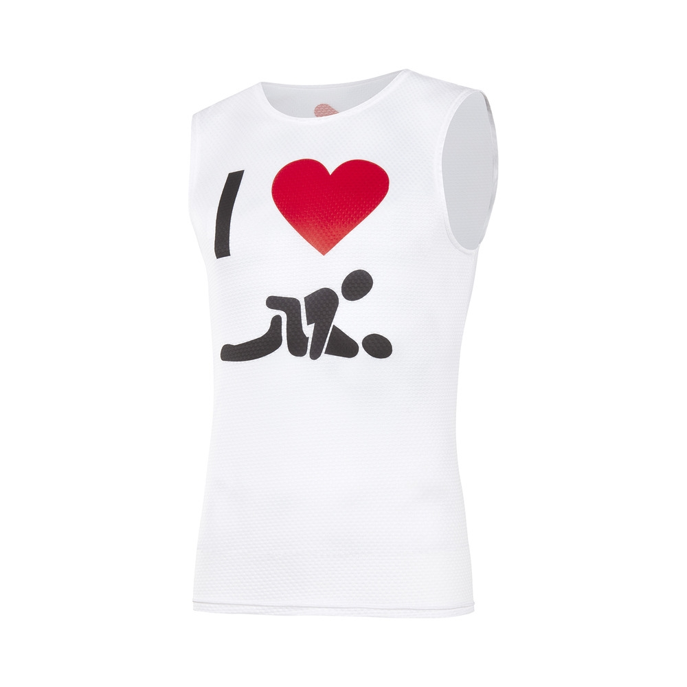 Sleeveless Underwear Shirt Fun Man XXX Size S/M