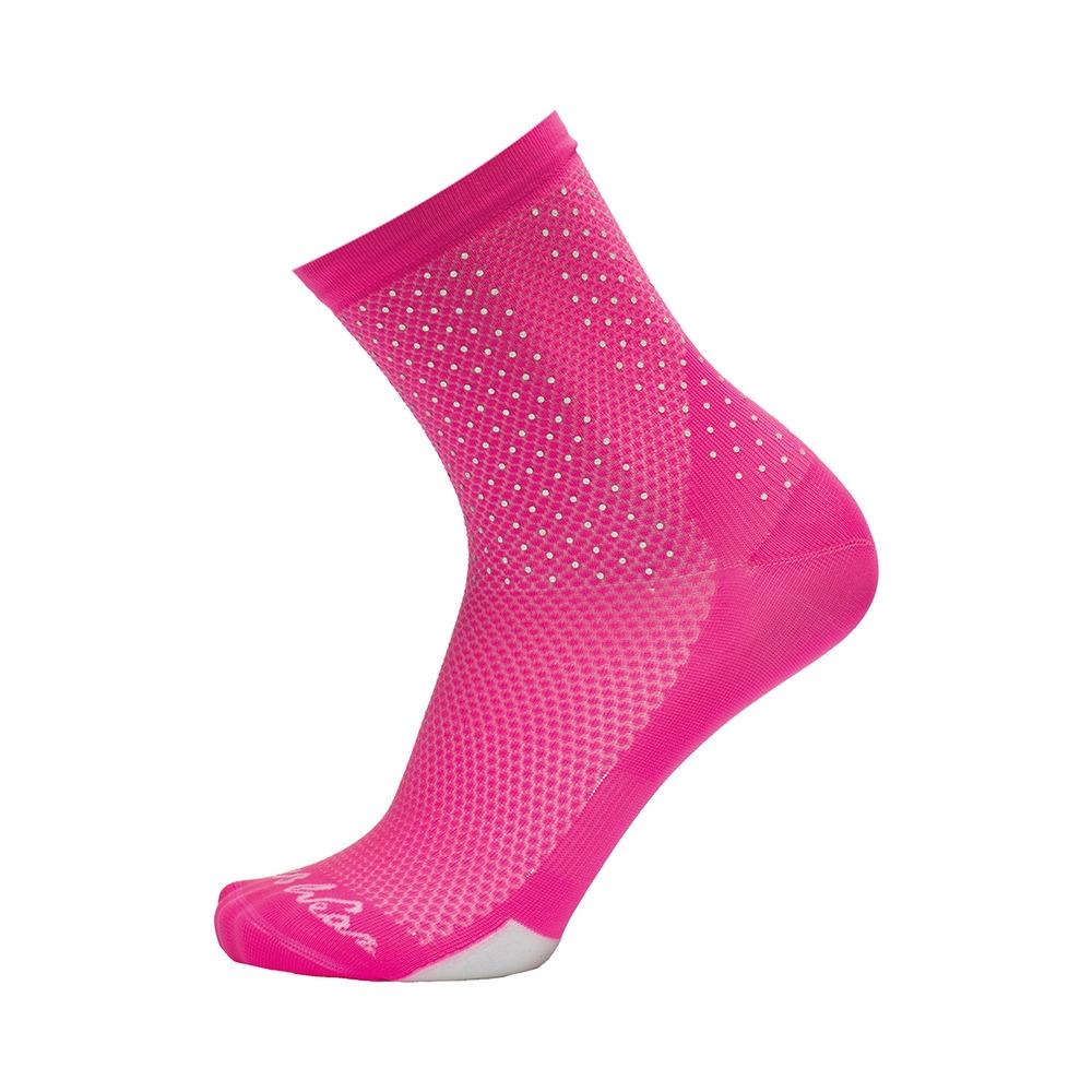Calze Bright Socks Nido D'ape H15 Rosa Fluo Taglia S/M (35-40)