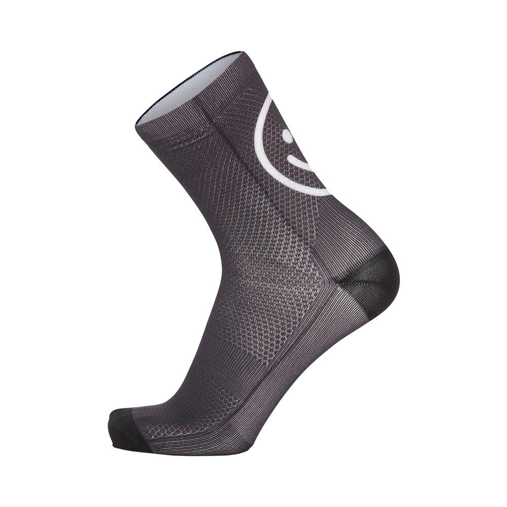 Socks Smile H15 Black Size S/M (35-40)