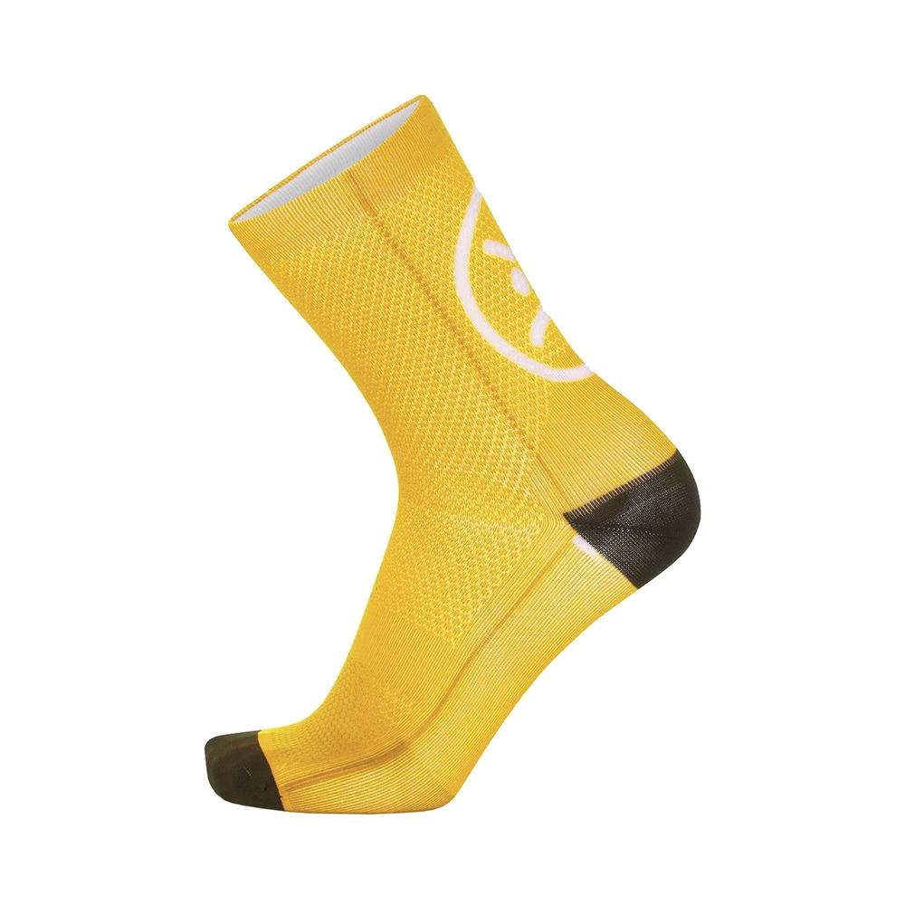 Socks Smile H15 Yellow Size S/M (35-40)