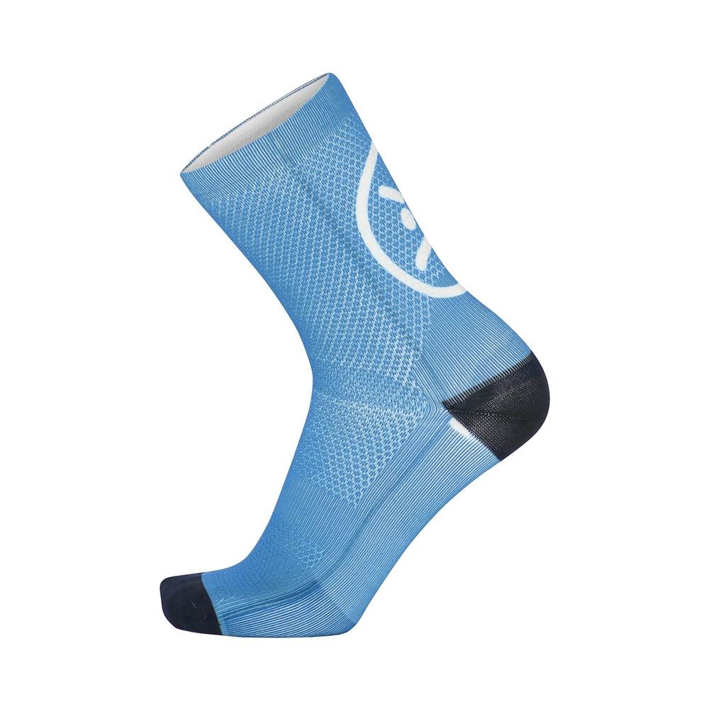 Socks Smile H15 Light Blue Size S/M (35-40)