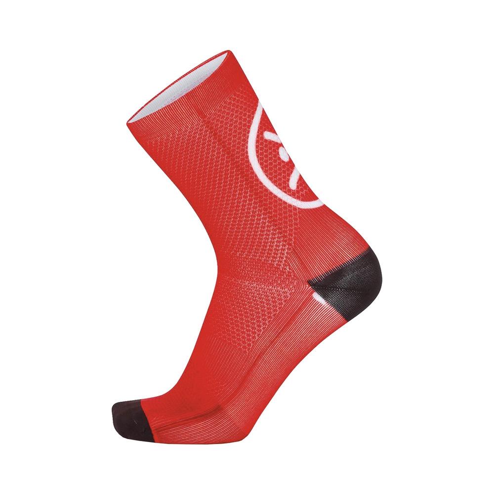 Socks Smile H15 Red Size S/M (35-40)