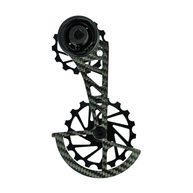 OSPW Kit Pulleys + Carbon Cage for Sram AXS 12s Black