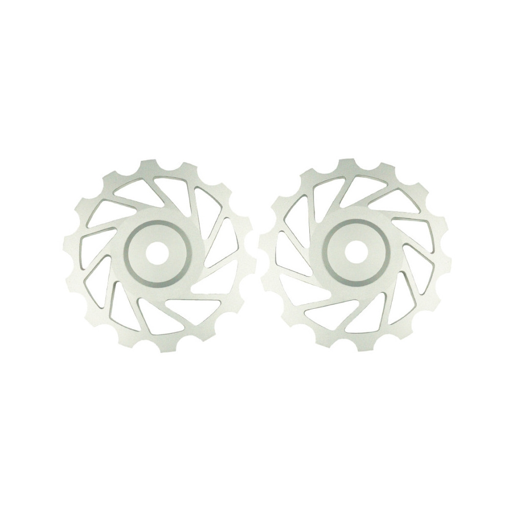 14T Mtb 12s Ceramic Wheel Pair Silver