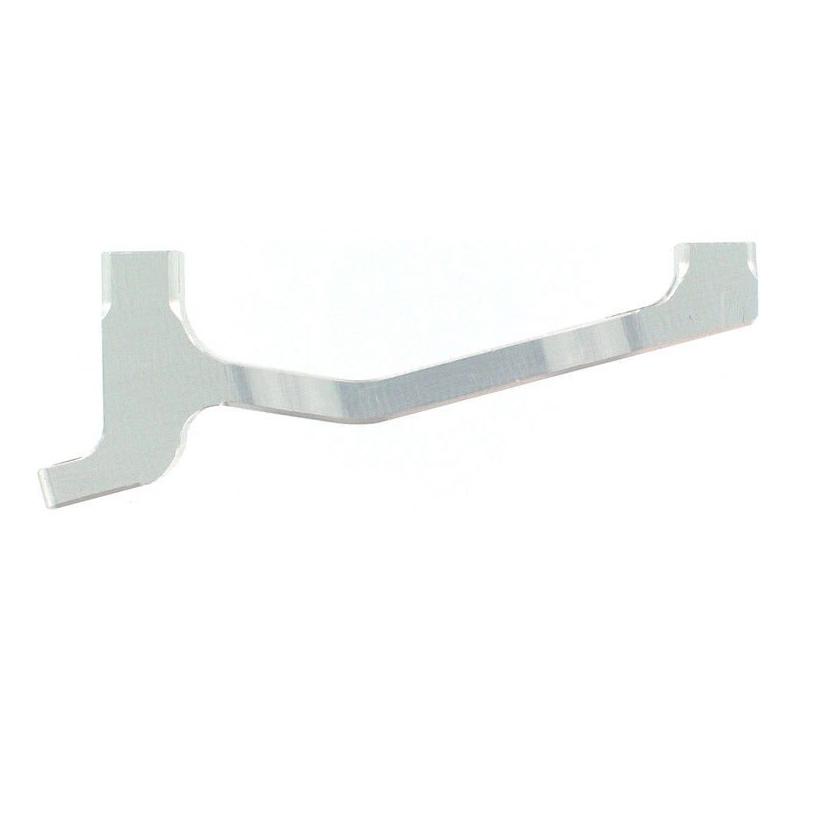 Adattatore Post Mount anteriore 183mm / 203mm silver