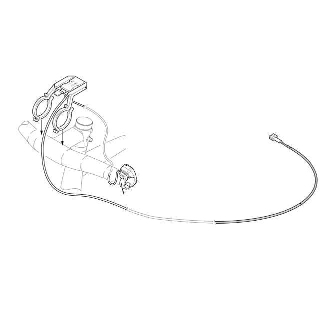 Support, bracket and wiring for display models XF1 - XF2 - XF3 - Seven Days year 2017