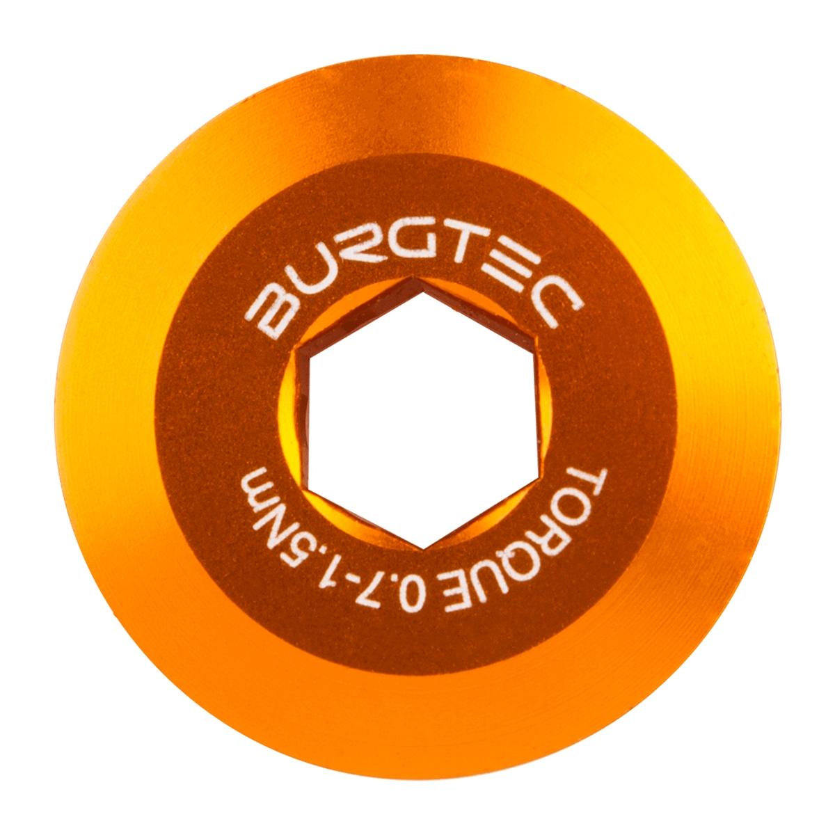 Pre-tension Bolt for Shimano Hollowtech II Cranks orange 9526