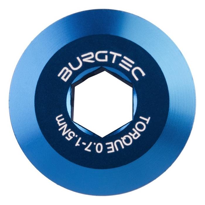 Bullone fissaggio pedivella Shimano Hollowtech II blu 9523