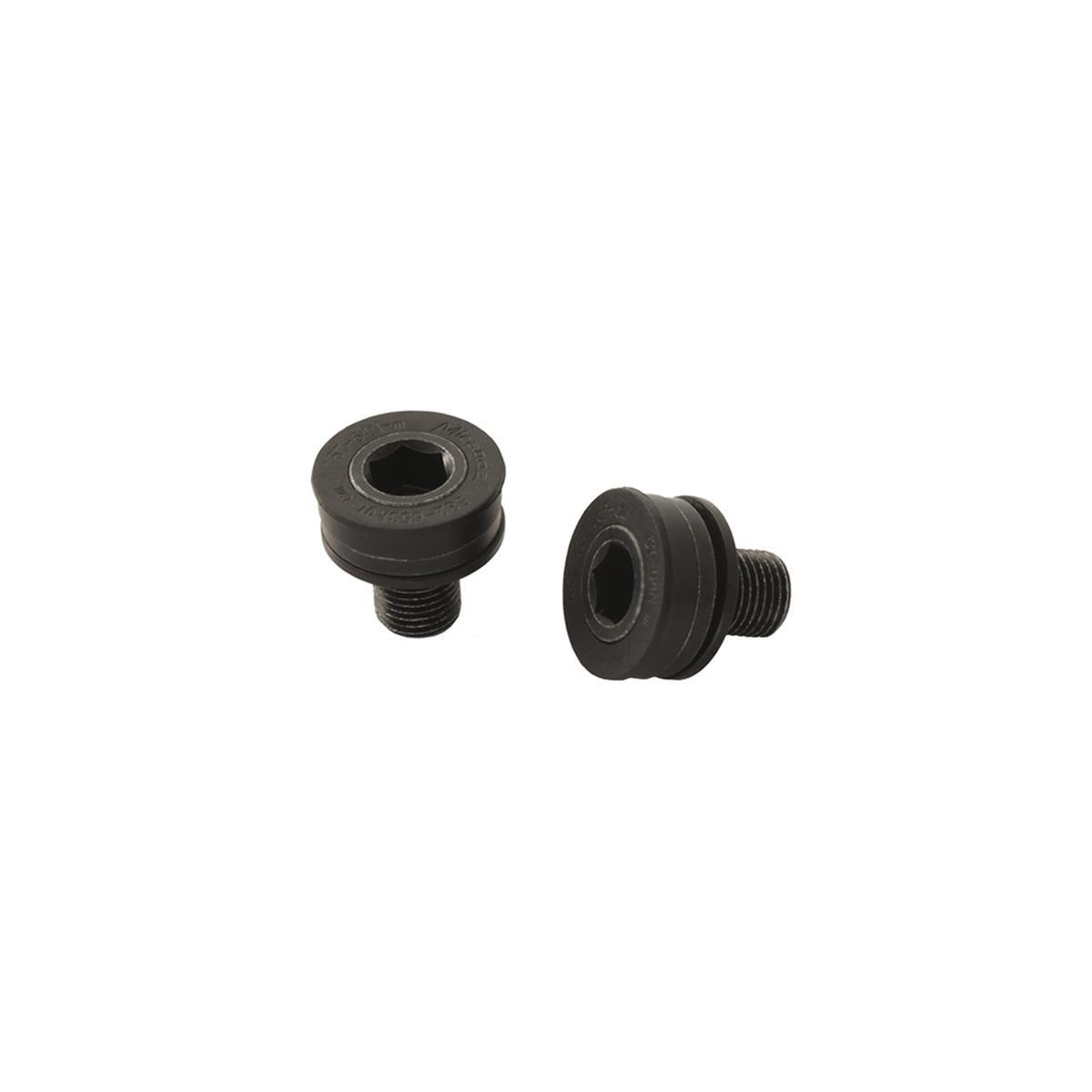 Pair crank screws M15 ISIS ebike black for Bosch performance CX Gen2 e Gen4