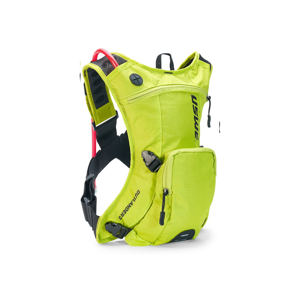 Backpack Outlander 3 3L with 1.5L Hydration Bladder Yellow