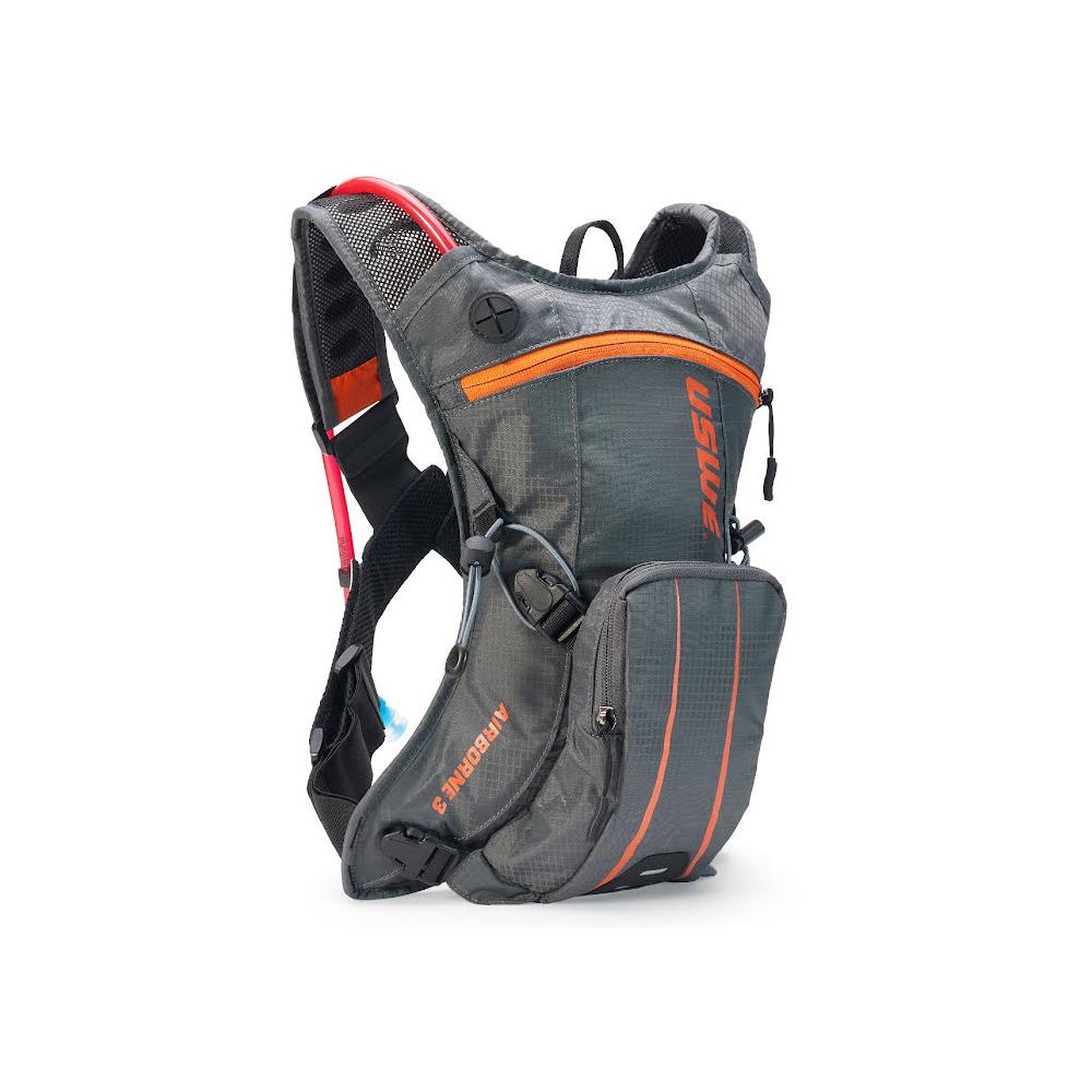 Backpack Airborne 3 3L with Hydration Bladder 2L Grey/Orange