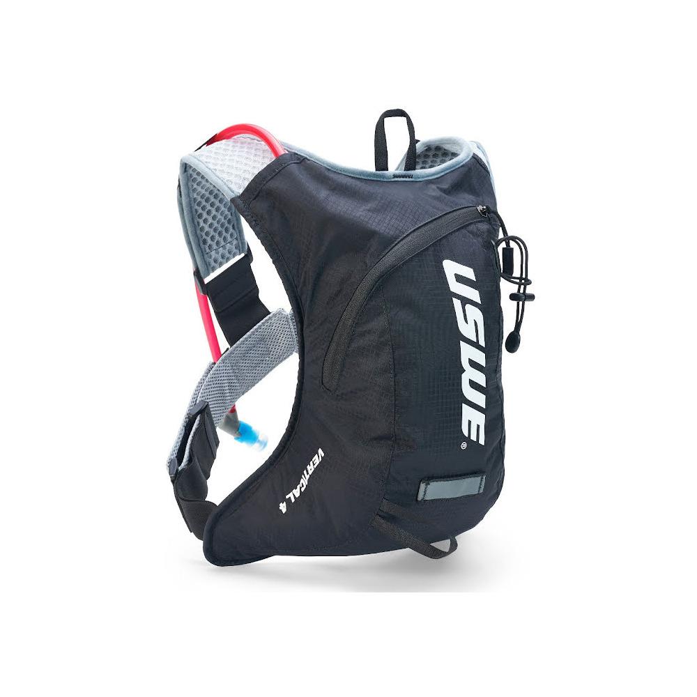 Backpack Vertical 4 Plus 4L with 2L Hydration Bladder Carbon Black
