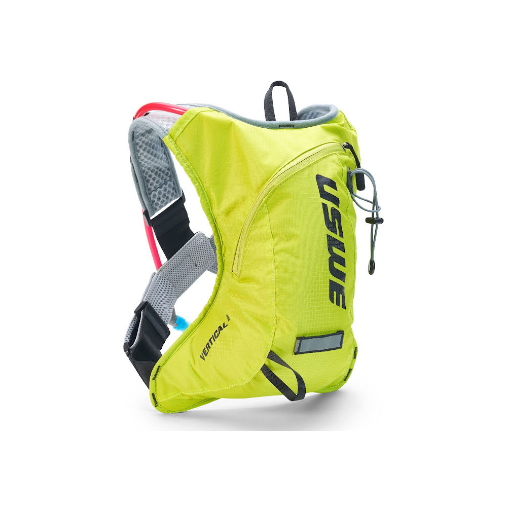 Backpack Vertical 4 Plus 4L with 2L Hydration Bladder Yellow