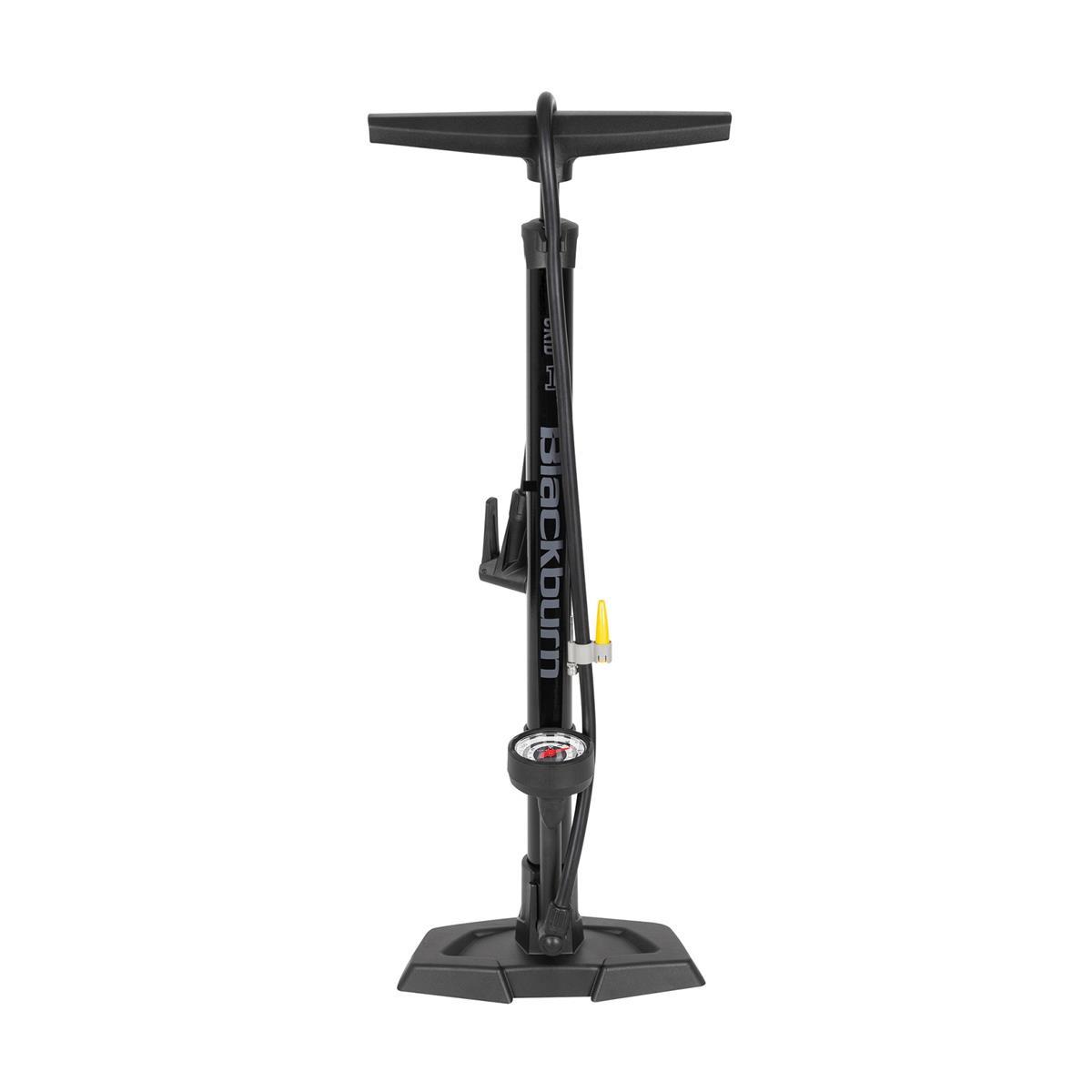 Floor Pump Grid 1 11 bar / 160 psi Presta / Schrader Black 2021
