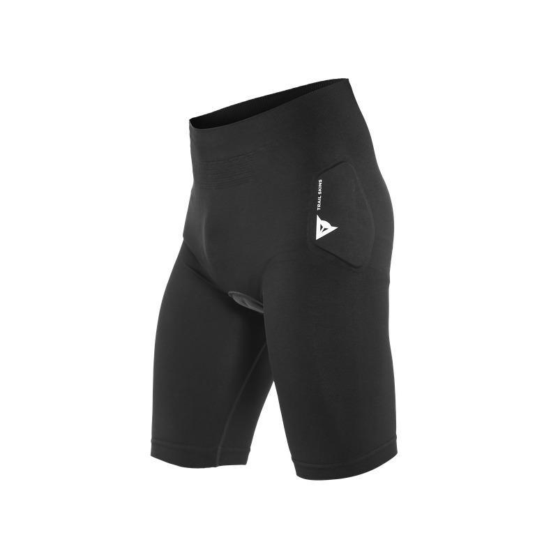 Pantaloncini Intimi con Fondello Trail Skins Nero Taglia XS/S