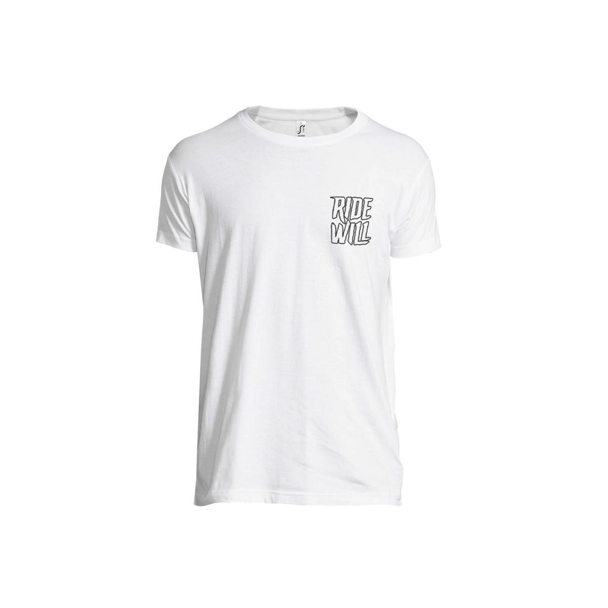 Maglietta T-Shirt Slash Bianco Taglia S