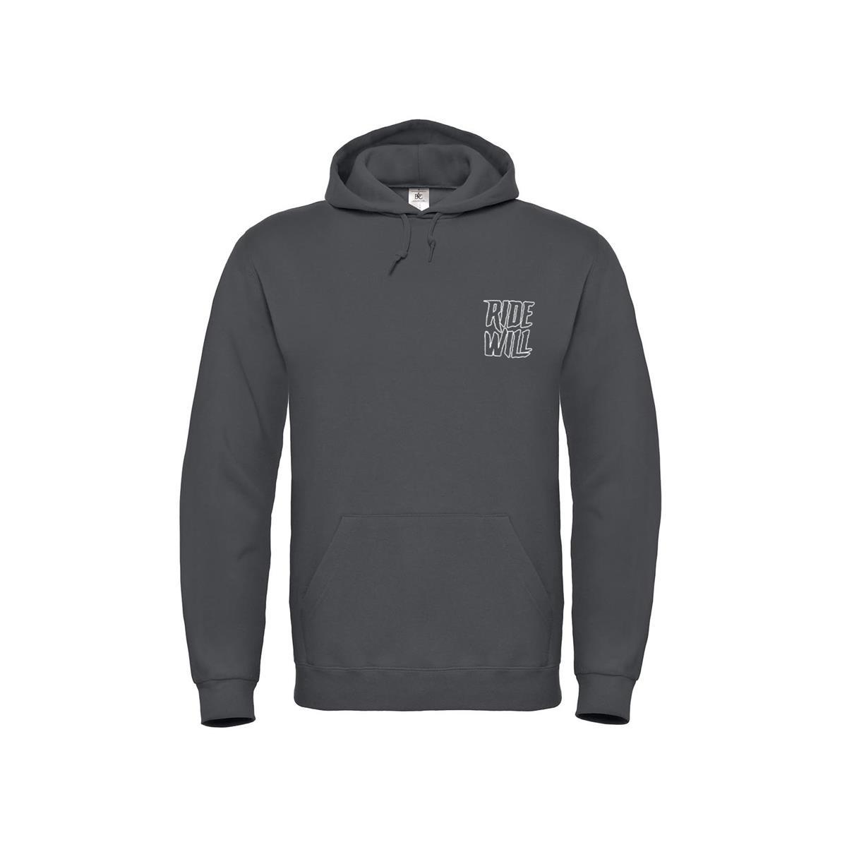 Hoodie Slash Grey Size S