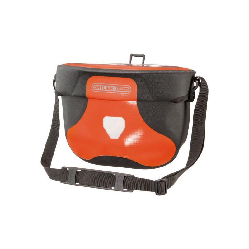 Front Handlebar Bag Ultimate Six Free 6.5L Red