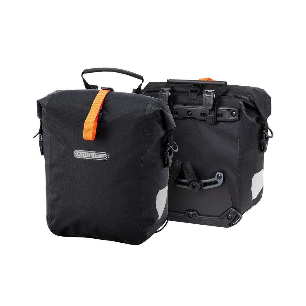 Rear Rack Backpacking Bags Gravel-Pack F9982 25L Black