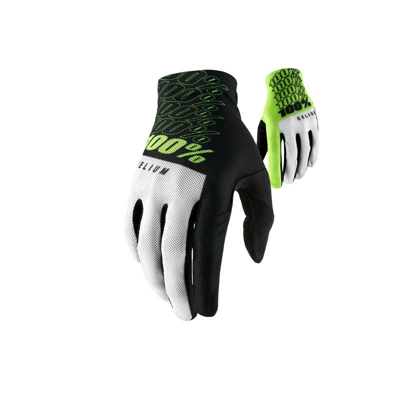 Gloves Celium Black/Lime Size S