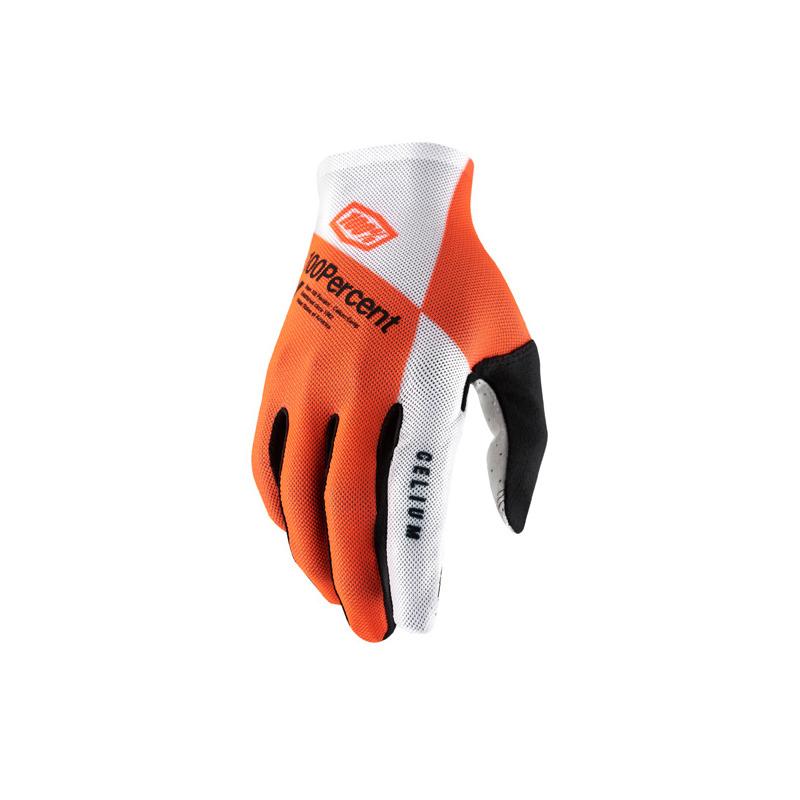 Gloves Celium Orange/White Size S