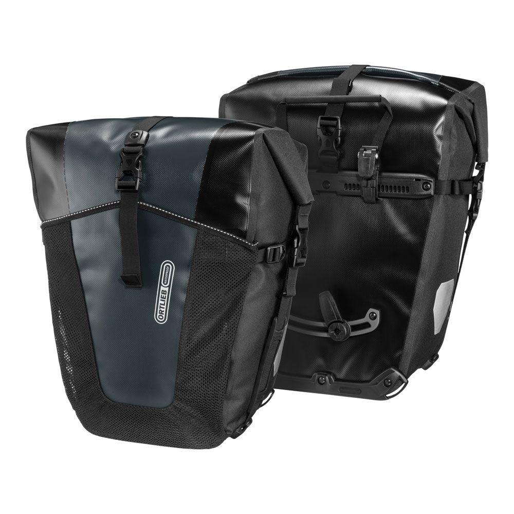 Coppia Borse Posteriori per Portapacchi Back-Roller Pro Classic 35L + 35L Nero