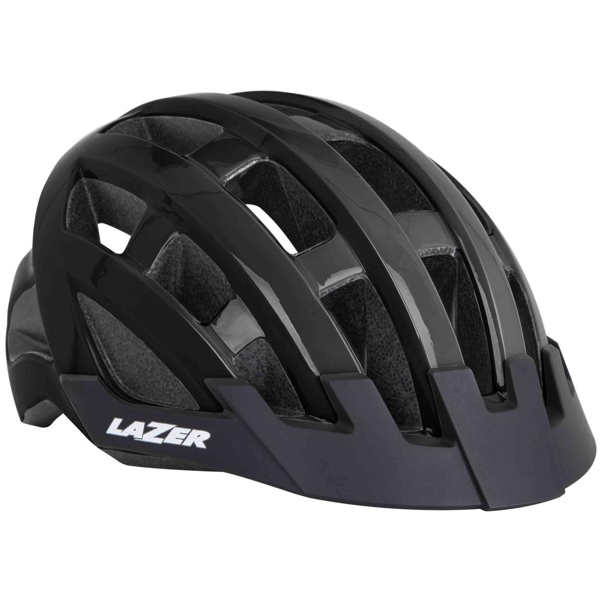Helmet compact black one size (54-61)