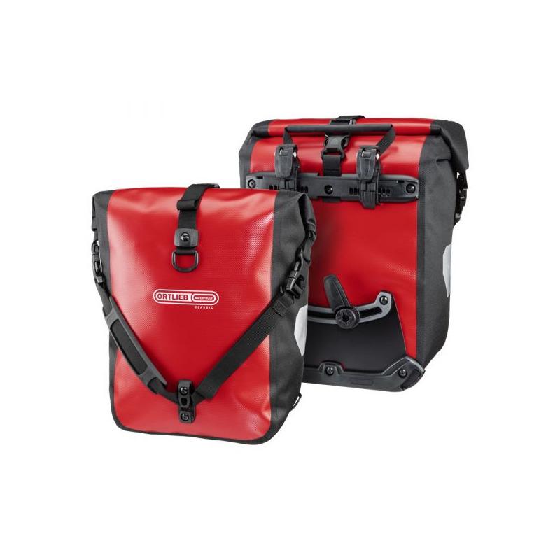 Rack Bags Pair Sport-Roller Classic 12.5L + 12.5L Red