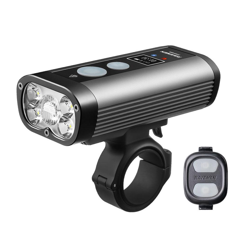 Luce Anteriore PR2400 5 LED 2400 Lumen Con Comando Remoto Wireless