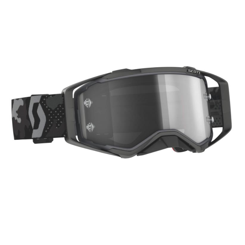 Prospect goggle Sand Dust Camo Grey - Light sensitive Visor grey 2022