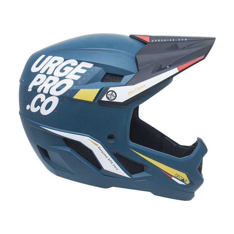 Full-Face MTB Helmet Deltar Blue Size L (57-58cm)