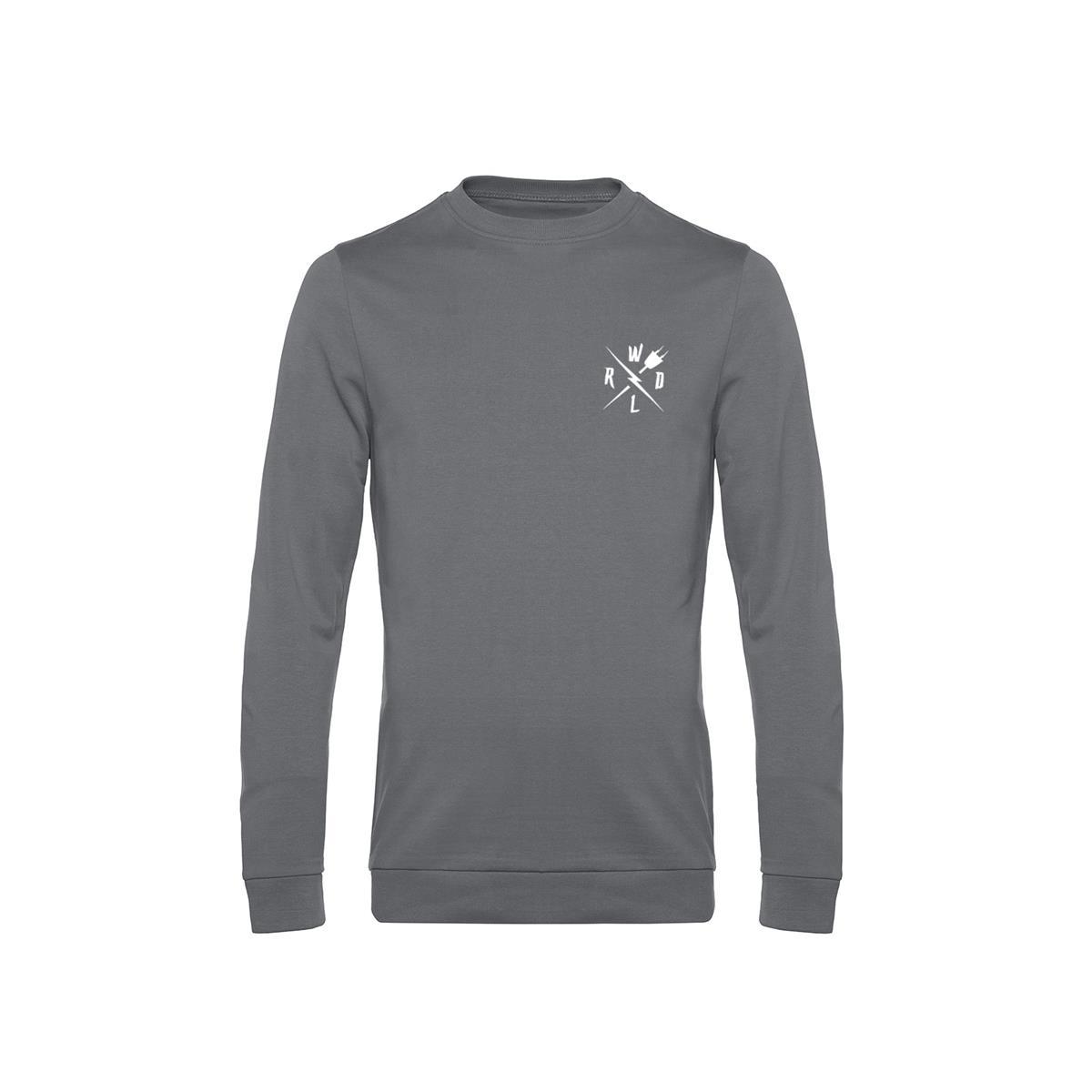 Crew Neck Sweatshirt Crew Grey Size S