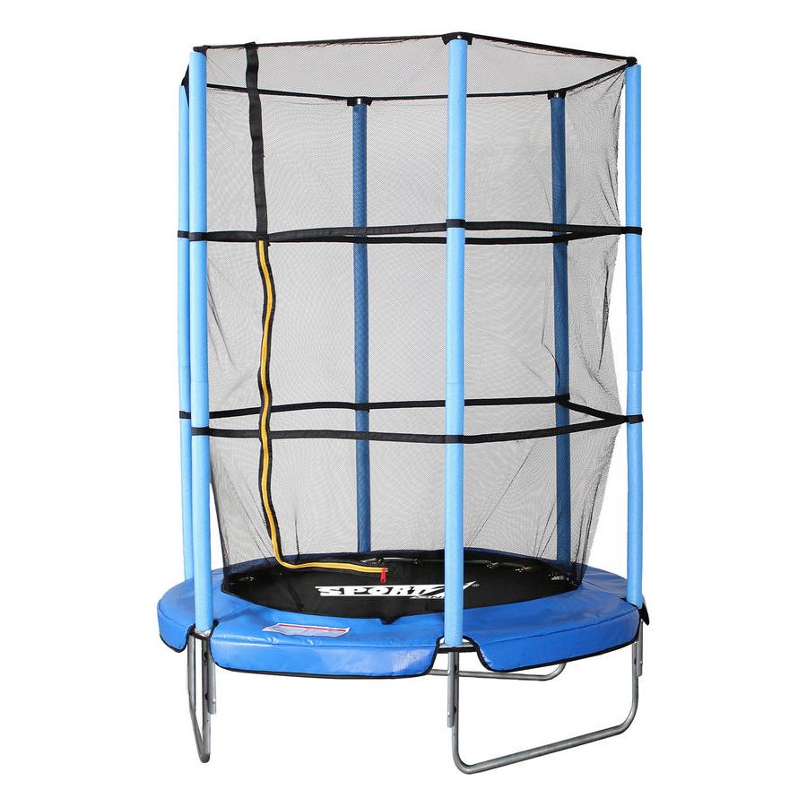 trampoline with safety net diameter 140cm