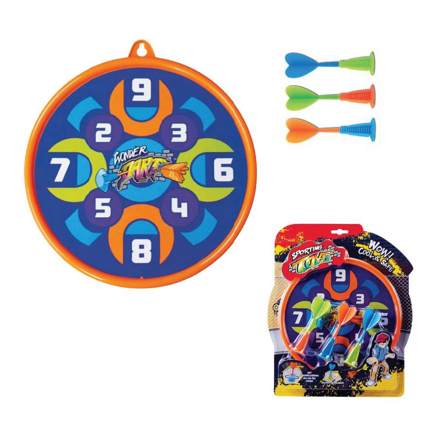 gioco raibow wonder dart