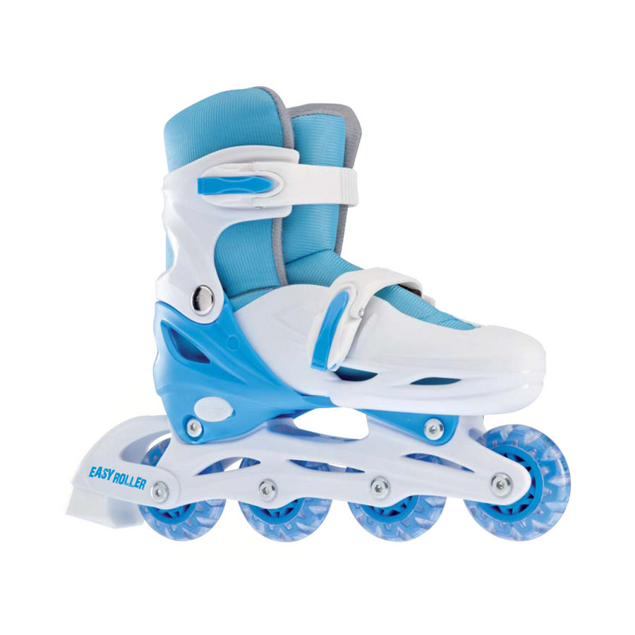 adjustable skates blue sizes 31-34