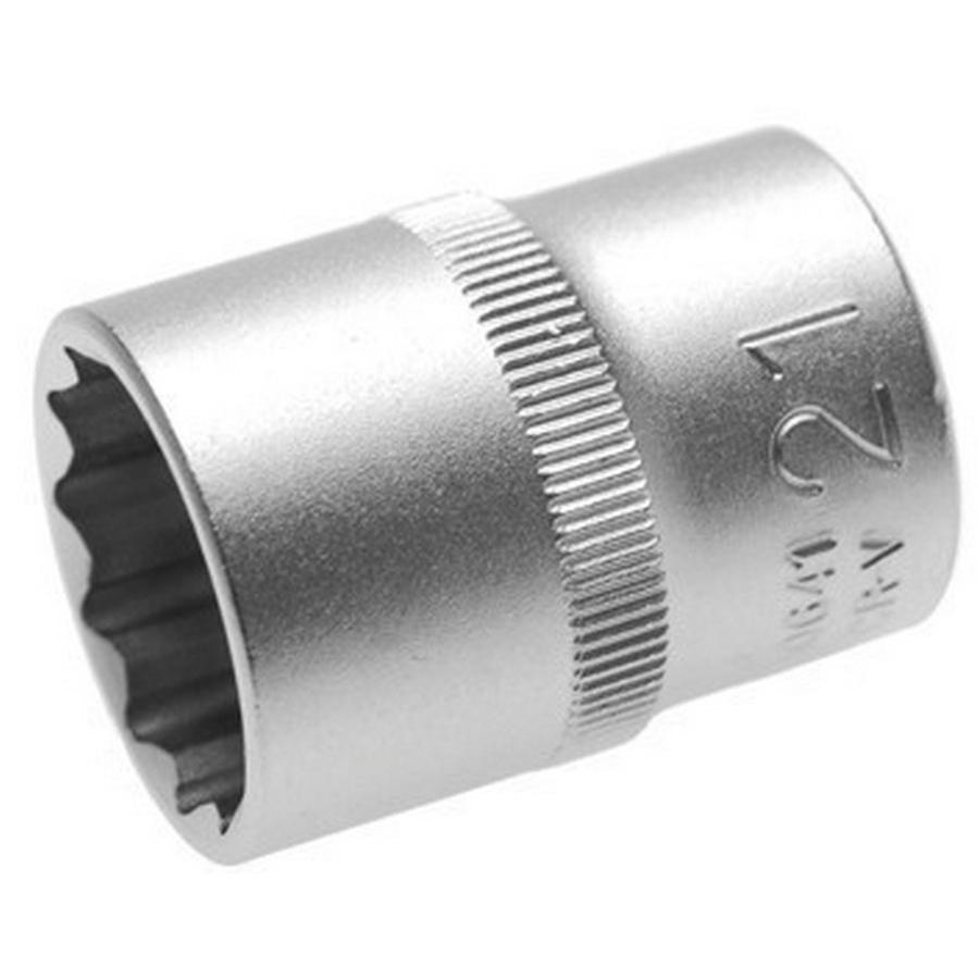 chiave a bussola poligonale 21 mm,att.1/2 - codice BGS10641