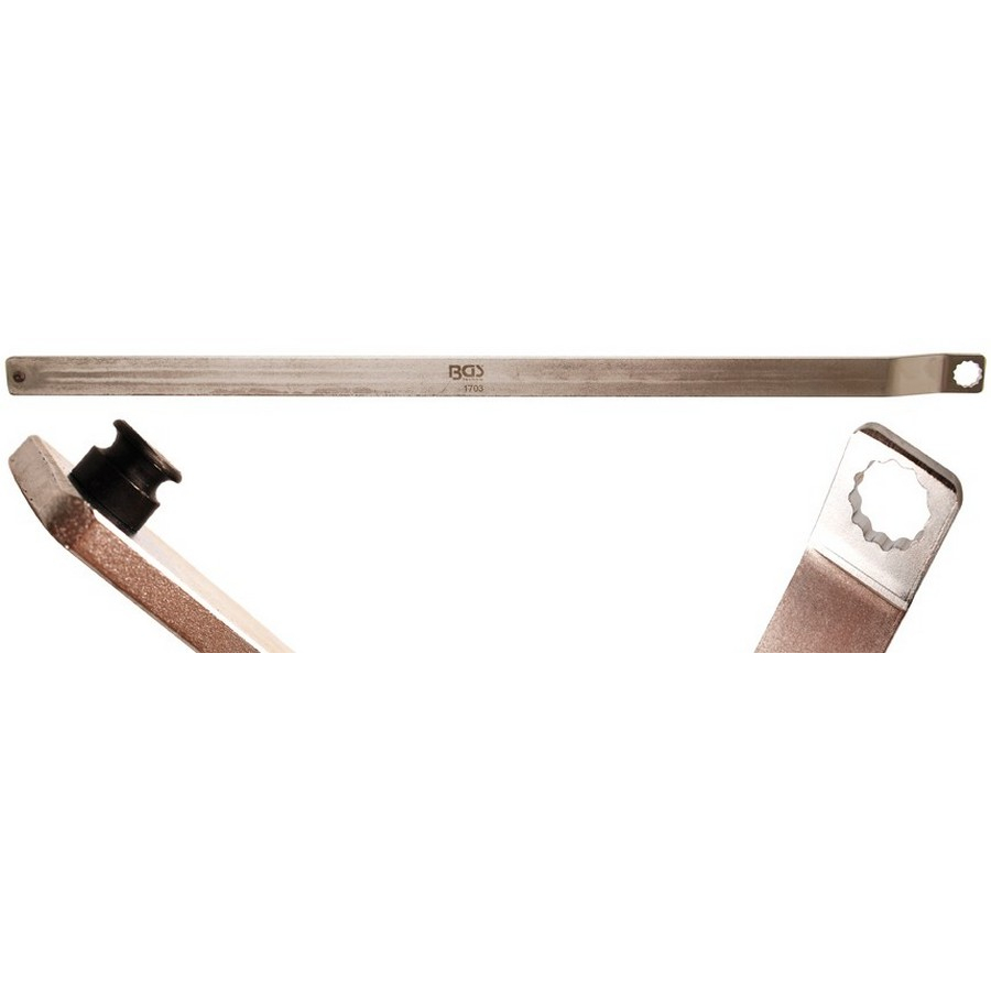 ribbed belt mounting lever - code BGS1703