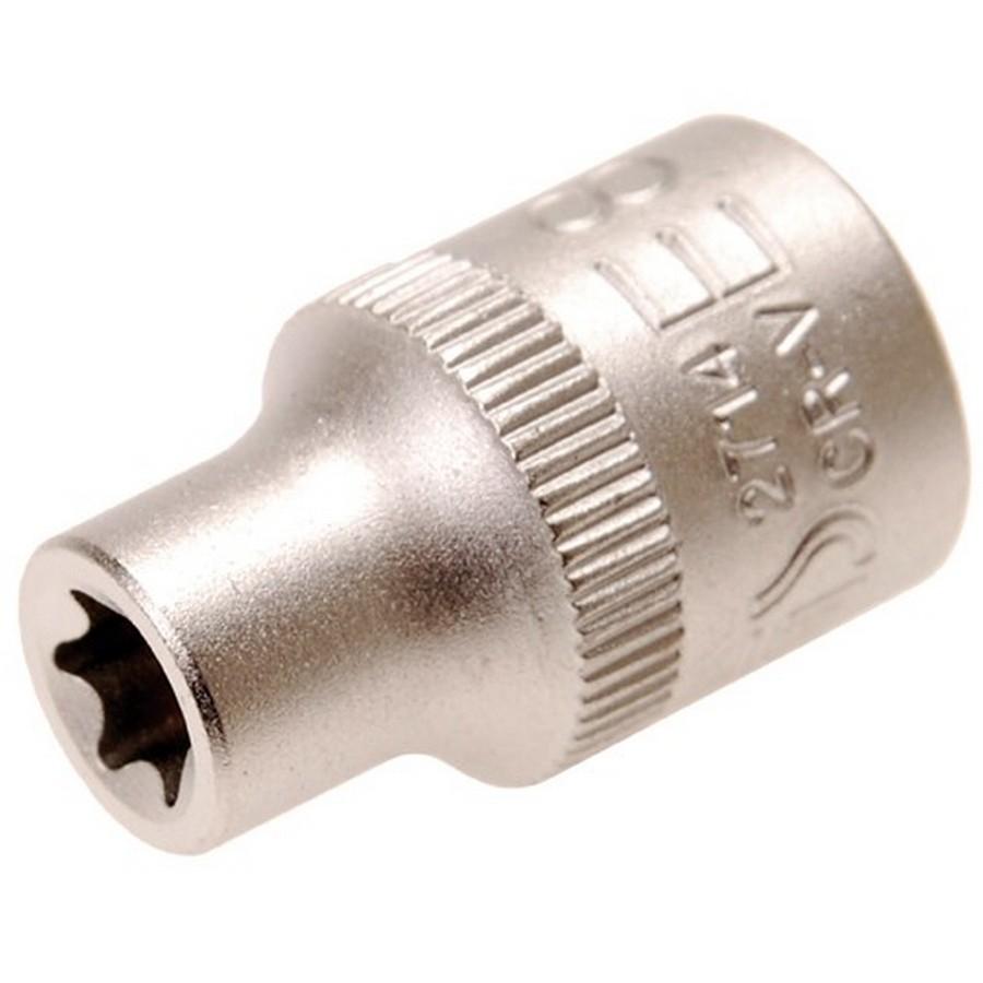cassetta metallica 22pz.assortiti torx - codice 2714