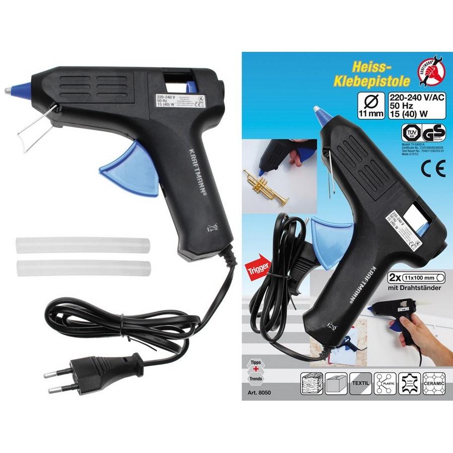 glue gun 15 w 11 mm ø - code BGS8050