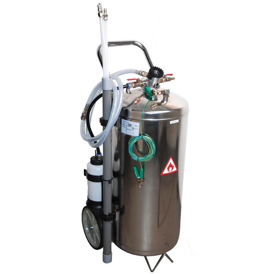 40l pneumatic fuel extracting unit - code BGS8702