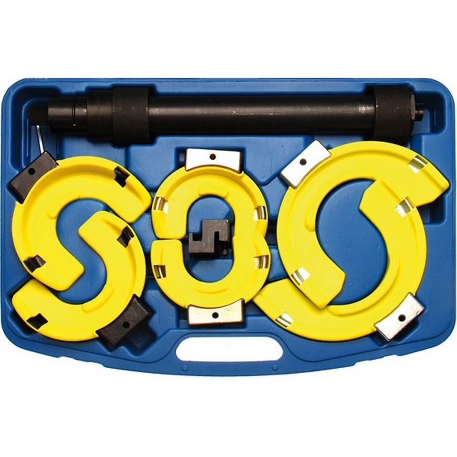 spring compressor set with 3 pairs of jaws - code BGS980