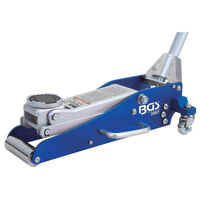 Sollevatore Idraulico A Carrello in Alluminio E Acciaio 1.5 T - Codice BGS2897