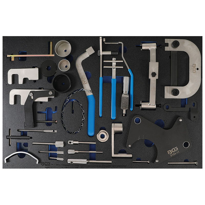 Tool Tray 3/3: Engine Timing Tool Set for Renault Nissan Opel Volvo - Code BGS4134