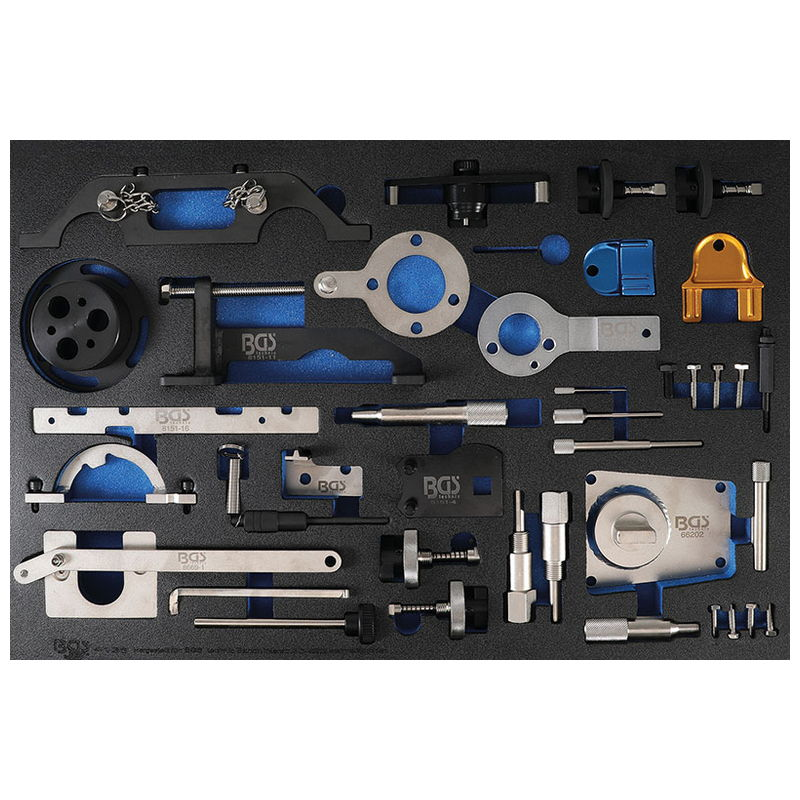 Tool Tray 3/3: Engine Timing Tool Set for Fiat Alfa Lancia Opel for Suzuki Ford - Code BGS4138